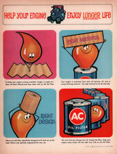1963 C AD A C OIL FILTER CARTOON HELP YOUR ENGINE