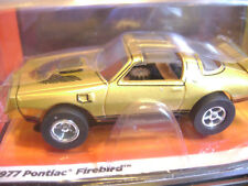 Sold Out Nos Auto World Xtraction Lighted Gold 77 Firebird Ho Slot Car Fit Afx