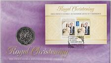 **2014 Royal Christening Prince George 50 cent  PNC **