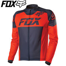 Fox Livewire Race LS Long sleeve Cycling Jersey 2016 - Fluro Orange - S M L XL