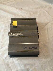 Pioneer GM-X742 Bridgeable 2 Channels x 80 Watts Car Amplifier 4Ohm