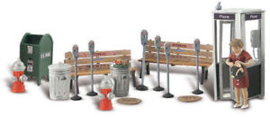 Woodland Scenics O Scale Scenic Accents Figures/People Set Street Accessories