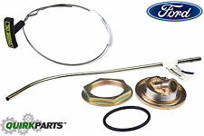 Ford 7.3L V8 Diesel Oil Pan Dipstick Tube Inner & Outer Nut Adapter & O-Ring OEM