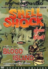 Shell Shock & Battle of Blood Island [New DVD] Black & White, Full Frame