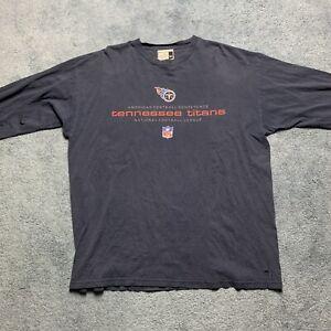tennessee titans long sleeve size XL puma nfl football