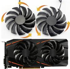 Fan For Gigabyte RX570 RX580 GAMING GV-RX470 WF2 RX480 2pcs 88 MM GPU T129215SU