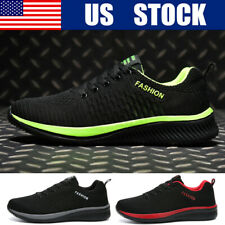 Men's Breathable Running Sneakers Athletic Fashion Jogging Walking Sports Shoes
