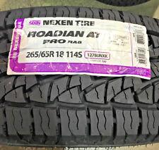 4 New 265 65 18 Nexen Roadian AT Pro RA8 Tires