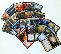 mtg Magic the Gathering 20 BULK RARE LOT mixed card collection edh commander