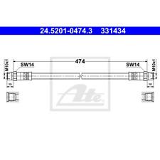 Bremsschlauch - ATE 24.5201-0474.3
