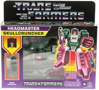 TRANSFORMERS ~ Headmaster Skullcrusher ~ Reissue ~ Decepticon ~ Hasbro