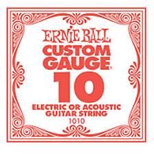 ERNIE BALL 1010 - Corda singola per chitarra elettrica e acustica