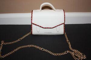 Authentic Strathberry Allegro Micro in Vanilla braided Trim NWOT