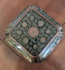 Antique Large Size Japanese Chinese  Lacquer Box Very Detailed