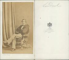 Ken, Paris, Landrol, acteur CDV vintage albumen carte de visite.Joseph Alexand