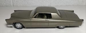 Johan 1967 Cadillac Deville Dealer Promo Baroque Gold Metallic W Box Nice
