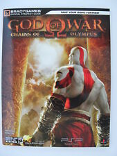 God of War: Chains of Olympus Official Strategy Guide ** Brand New **