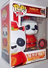 Funko Pop! Asia Exclusive Kung Fu Panda The Po of Wealth New