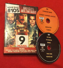 Con Games   The Eliminator   Men With Guns   Tunnel Vision (DVD 9 Movies) Tusks