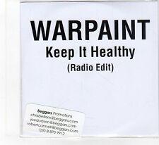 (FB112) Warpaint, Keep It Healthy - 2014 DJ CD