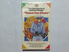 Betamax Tape Movie Count the Clues Lone Ranger Sealed NEW VERY RARE O3