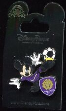 Mickey Mouse Orlando City Soccer Football Team Player Disney Pin