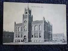 Early 1900's The City Hall in Guthrie, Ok Oklahoma PC