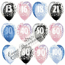 Ballons Gris 18 ans Cod.54165