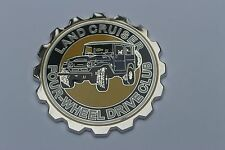 Land Cruiser Club Grille Badge Emblem