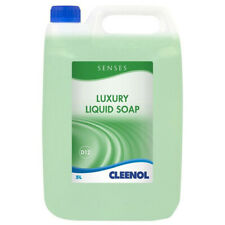 More details for 2 x cleenol spruce luxury hand soap 5 litre green ( 10l total )
