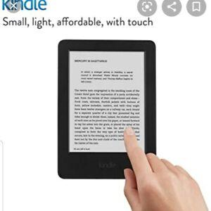"Amazon Kindle 7th Generation 4GB WIFI 6"" Black. Glare Free"
