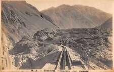RA Cordillera Cremallera Col Fajardo Real Photo Antique Postcard J72446