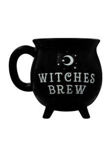 Witches Brew Mug Cauldron Black 10 x 10 x 10cm