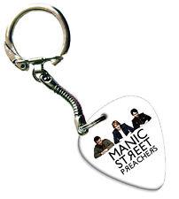 More details for manic street preachers guitar plectrum keychain keychain band plectrum