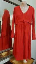 Meredith Jersey Dress.Sz12.Easy fit with crumpled finnish.As new condition