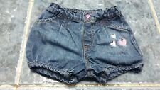 Baby girl denim bloomers size 0-3 mths by Ladybird