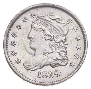 1834 Capped Bust Half Dime - Charles Coin Collection *329