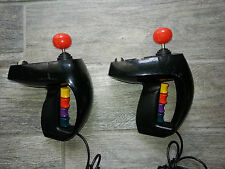 COLECOVISION, Pair of SUPER ACTION CONTROLLERS, Both fully tested, Work Great!