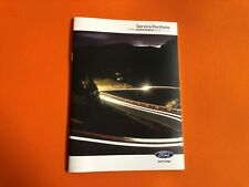 BRAND NEW FORD FOCUS SERVICE BOOK NOT DUPLICATE 100% GENUINE DEALER PRODUCT££££