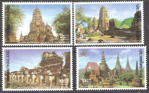 Thailand 1994 Historical Park Heritage Conservation Day MNH (SC# 1561-1564)