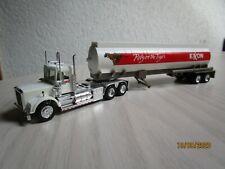 """1:87 US-Truck """"Mack?"""" Tankauflieger Fa. Exxon mit Chrom! Rarität!"""