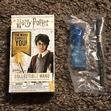 """Harry Potter Mystery Mini Wand ~ Dumbledore ~ 4"""" Die-Cast Wand with Stand New!"""