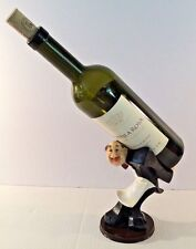 Italian/French Waiter/Butler Wine Bottle Holder and Kitchen Decor