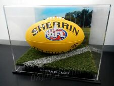 ✺Signed✺ NATHAN BUCKLEY Football PROOF COA Collingwood Magpies 2017 Guernsey