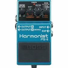 BOSS PS-6 Harmonist Pitch Shifter 3-voice Harmony Detune Guitar Effects Pedal