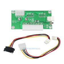 24Pins ATX Benchtop PC Power Board Computer Power Supply Breakout Module Adapter