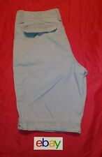 Old Navy Men's Distress Gray Casual Khaki Shorts w cell phone pocket sz 32