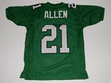 Unsigned Custom Green Eric Allen Jersey Sewn Letters Numbers Size Medium