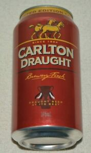COLLINGWOOD MAGPIES LIMITED EDITION 2010 PREMIERSHIP CARLTON DRAUGHT CAN FULL*