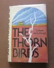 THE THORN BIRDS by Colleen McCullough - 1st 1977 HCDJ pirated